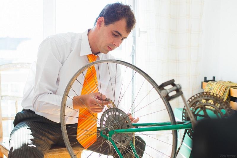 slag uit fietswiel halen