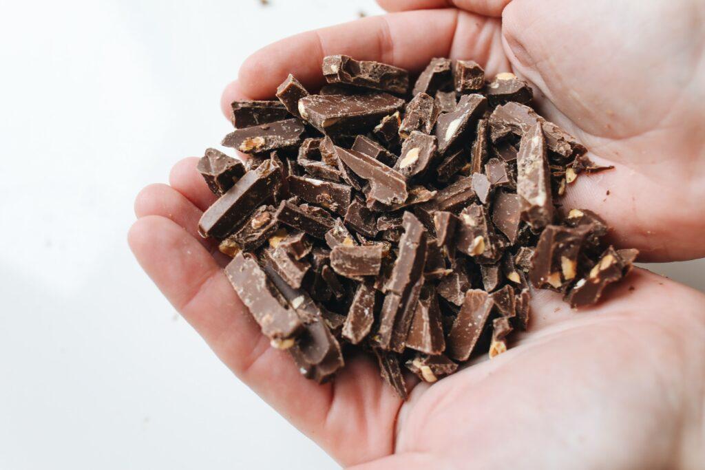 Suikervrije chocolade ah