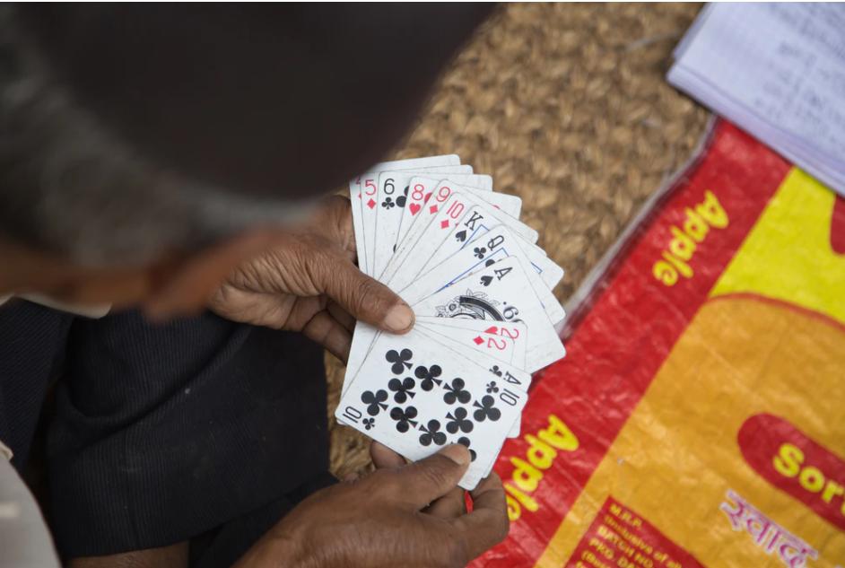 Kaartspel 2 personen Wippen
