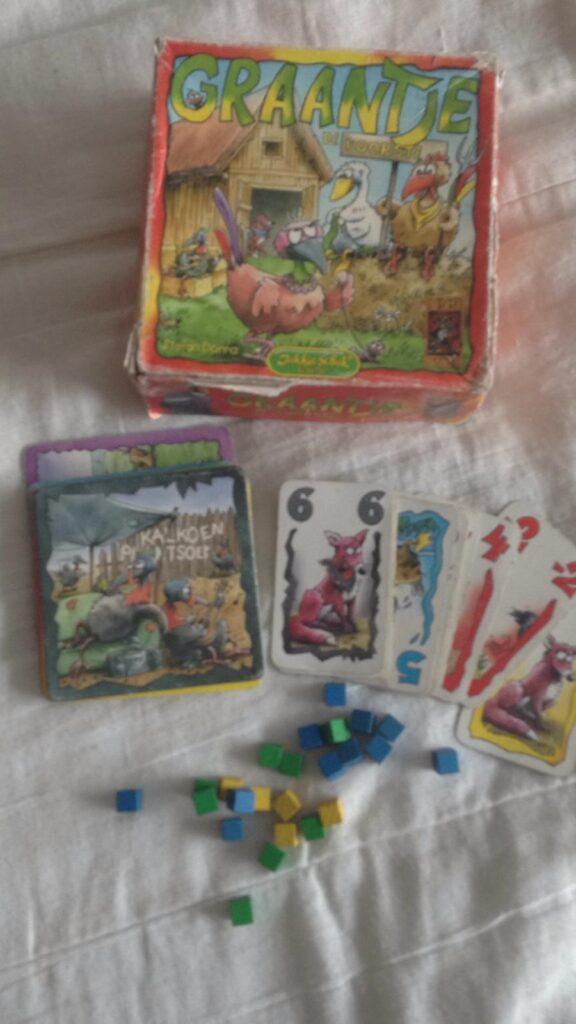 Kaartspel 2 personen Graantje de voorste