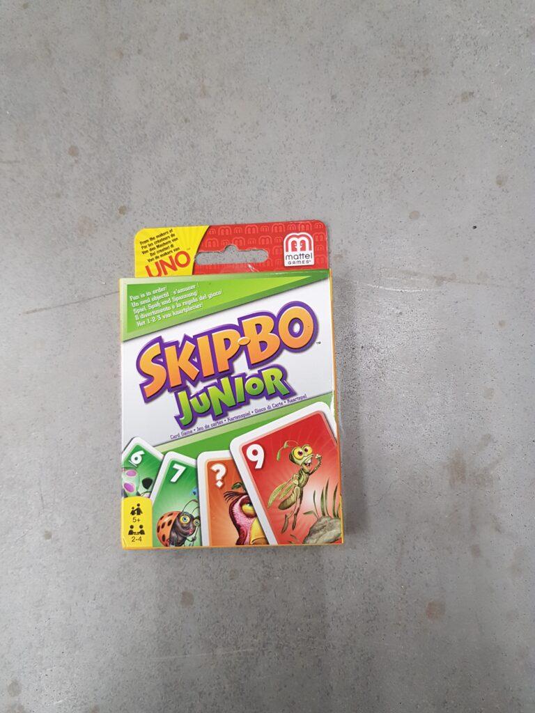 Kaartspel 2 personen Skip-bo junior