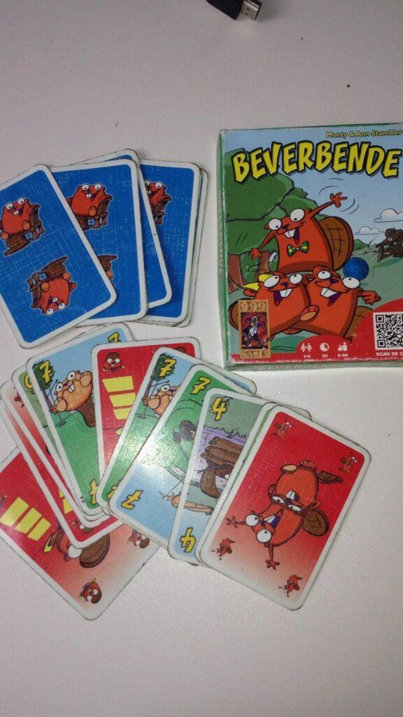 Kaartspel 2 personen Beverbende