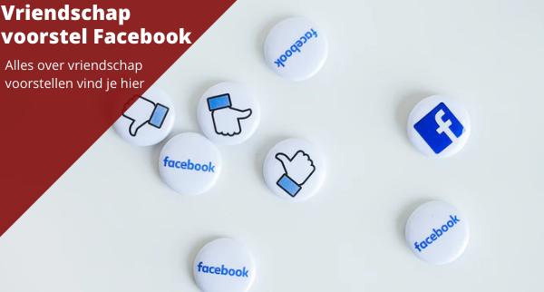 Vriendschap voorstel  Facebook