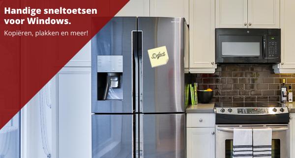 Lekt jouw koelkast? Vind hier wat je daartegen kunt doen