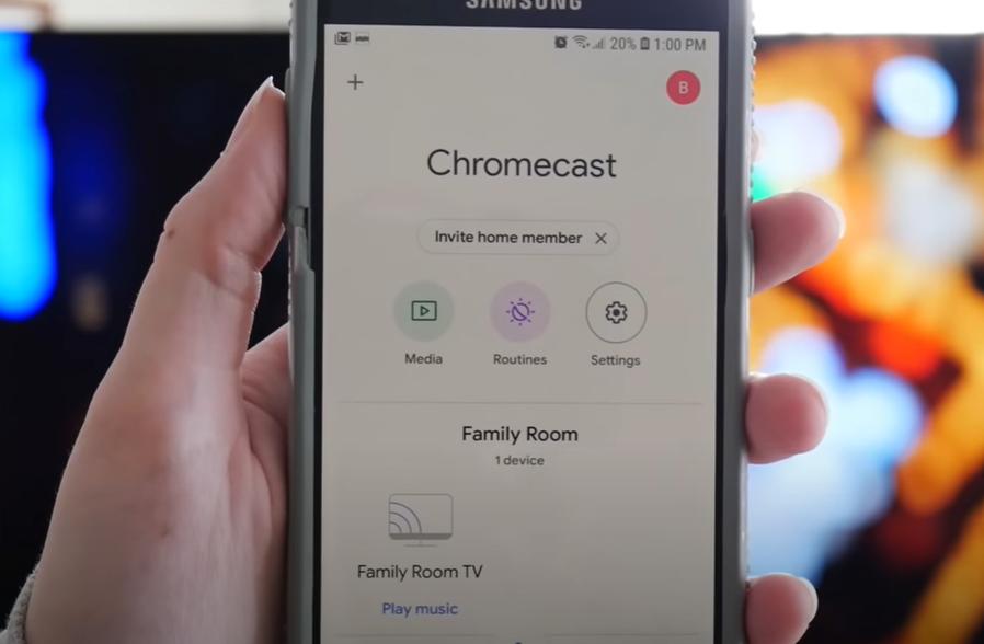 scherm casten chromecast werkt niet